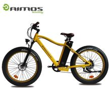 750W bafang motor 48V samsung battery fat e-bike with 26'*4.0 inch big tire