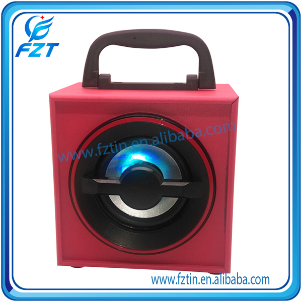 Mini multifunctional Channels 3 2.1 big portable rechargeable speaker with usb/sd Support SD/TF card UK-53 portable speaker