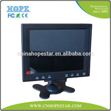 7 inch led monitor tft lcd rearview mirror car monitor 7 inch tft lcd monitor with hdmi input