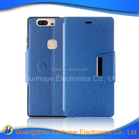 China factory tpu pu leather flip cell phoen case For Huawei Honor V8