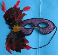 beautiful feather mask for adult and child ---China supplier 508