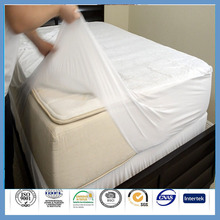 10 year warranty breathable Fitted hypoallergenic vibrating mattress pad for adults