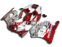CBR250 Fairing For Honda CBR250 91 92 93 94 95 96 97 98 CBR22 Fairing Bodywork CBR250RR MC22 1991 1998 Motorcycke Kit red silver