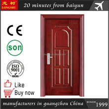 nigeria steel security steel door design frame cheap exterior door