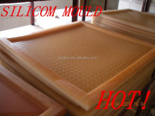 Silicone mold for plaster ceiling board