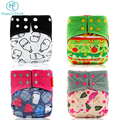 Happyflute soft care baby reusable nappies cloth diapers wholesale