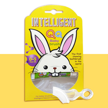 INTELLIGENT 100% FDA approved material No pigment Soft silicone Chewing Baby Toothbrush