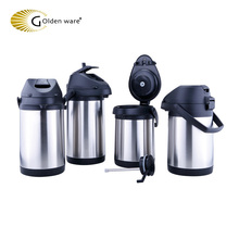 KAP20C New Product Latest air pressure stainless steel Thermal Hot & Cold Beverage Carafe vacuum pot With Pump Dispenser