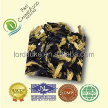 Dried butterfly pea from Thailand