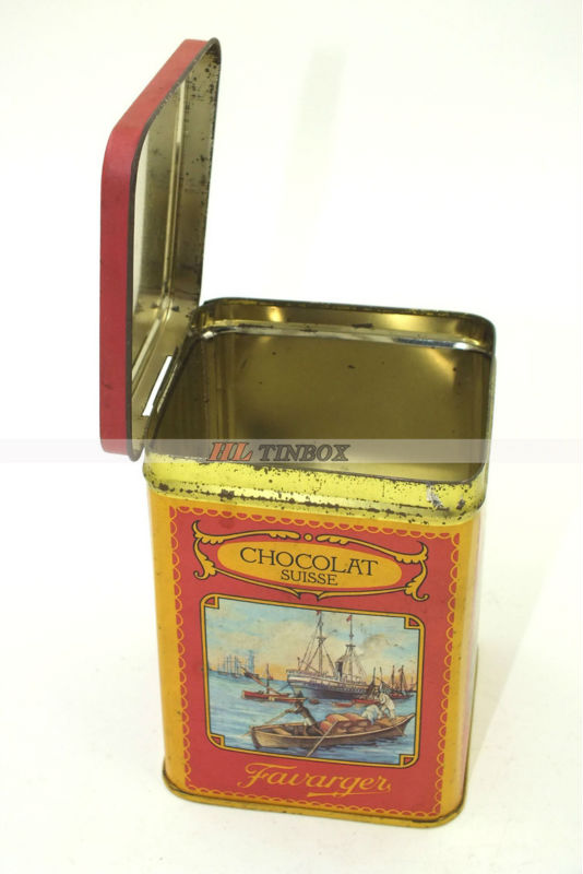 Chocolate Tin Can Packaging/Metal Tin Packaging/Candy Tin Can