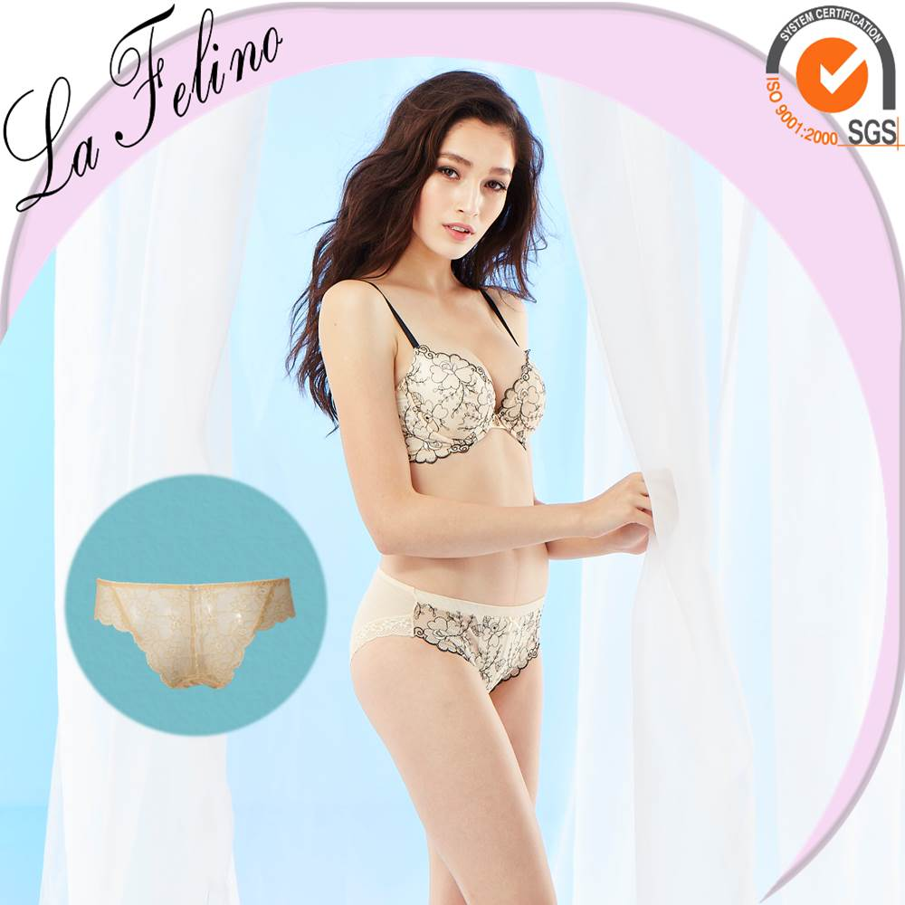 Champagne Gold Microfiber Imported so-en panties