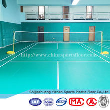 Standard flexible badminton court size