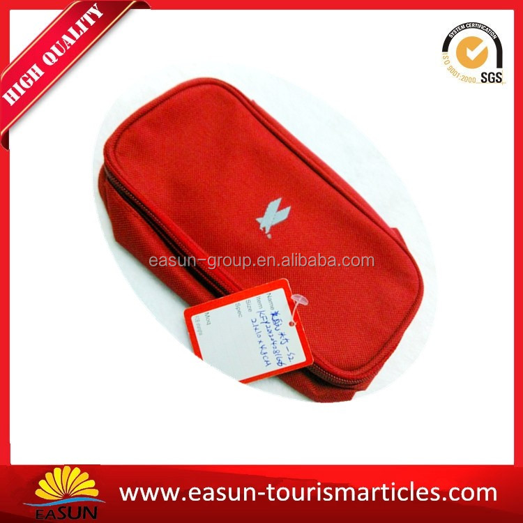Wholesale china airline travel set best airplane travel kit aviation bag cosmetic bag