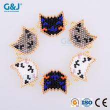 guojie brand New Stylish DIY cat Japan crystal Glass Seed Beads for Garment