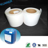 Blank jumpo roll adhesive sticker labels / for chemical industry