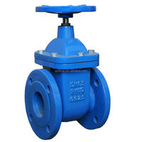 Rubber Seat Gate Control Valve for Water