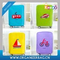 Encai Colorful Printing Trolley Case Cover Protector Promotional Gift