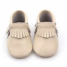 Wholesale moccasins soft touch shoes leather shoes baby