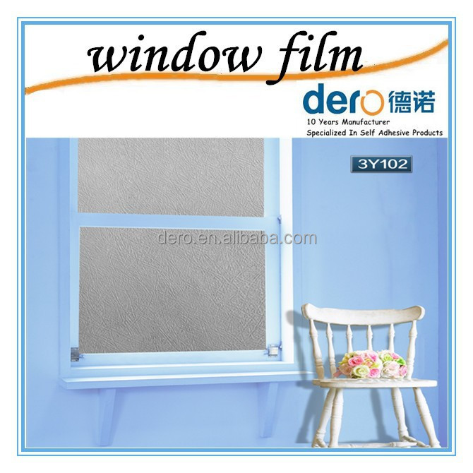 Dero high quality static cling new design window film