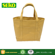 High quality washable kraft paper tote bag wholesale