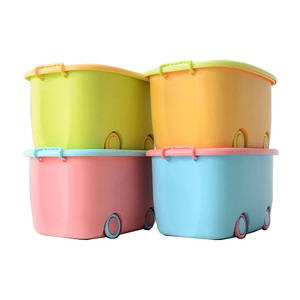 High quality plastic snacks lazy clothes storage box