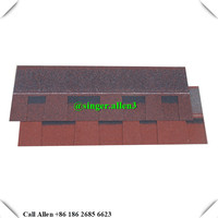 Fiberglass modified laminated bitumen asphalt roofing shingles architectural roofing tiles