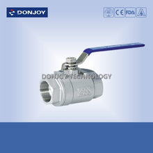 2 pc ball valve /stainless steel 2 piece ball valve