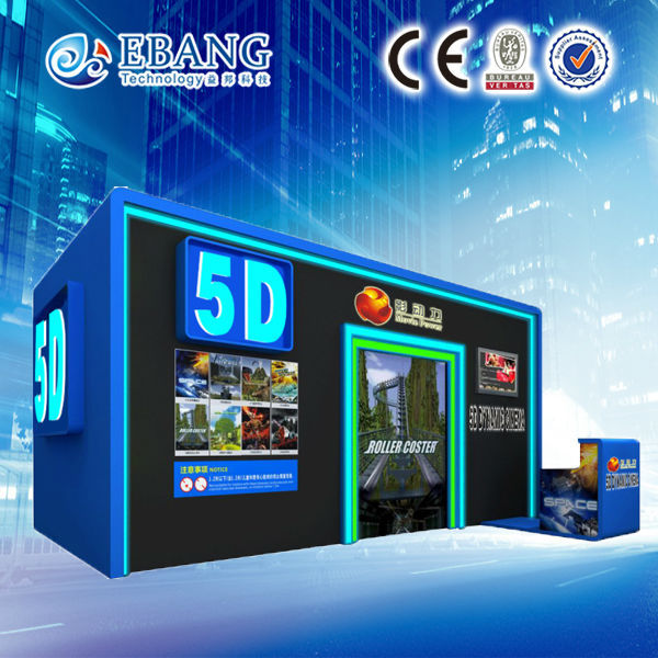 Save a lot of money and space 5d cinema with cabin and all accessories