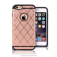 2016 Newest fenstral fabric TPU+PC western cell phone cases for iphone6plus