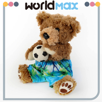 New Style Dissimilarity Birthday Gifts Teddy Bear Plush Child Toy For Baby Doll