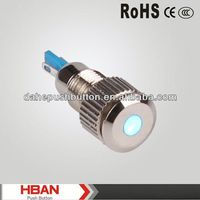 CE ROHS pushbutton with led indicator