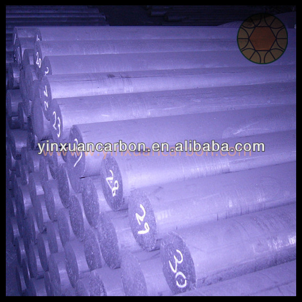 high density vibrated graphite rod