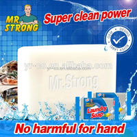 Different type of laundry soap for hand washing
