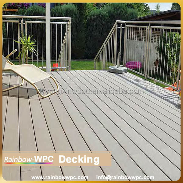Wpc composite decking composite deck flooring wpc recycled for Recycled decking material