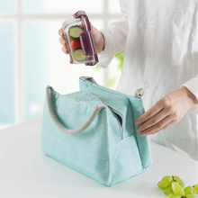 wholesale food insulation package lunch cooler bag picnic backpack single color thermal insulated lunch box bag