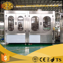 Automatic small scale juice plastic bottle water washing filling capping and sealing packing liquid machine prices