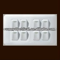 new design high quality push button wall switch