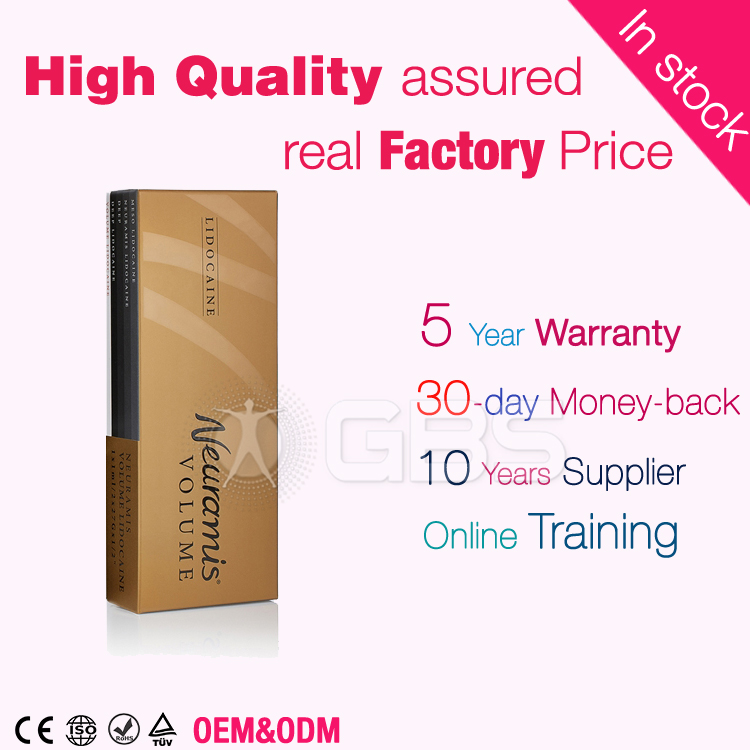 ce approval high quality hyaluronic acid dermal filler gel <strong>injection</strong> 1ml