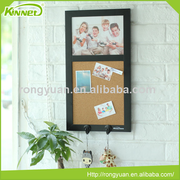 Hot sale school supplies multi function MDF frame wall mounted combo board