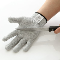 High quality durable 100% cut resistant fiber anti puncture gloves