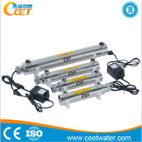 2T/H 40W Stainless Steel UV Water Sterilizer for medical water