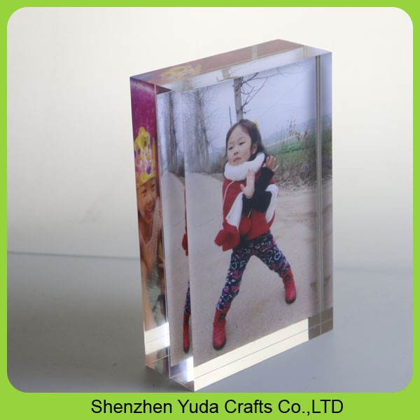 2 Sided Picture Frame Clear 4x6 Acrylic Frames Wholesale