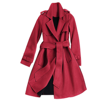 China Wholesale Cheap Winter Lamb Wool Ladies Dress Suit Coat