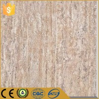 Foshan export factory outdoor terracotta garden decoration wood look porcelain polished tile