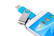 8gb OTG swivel twister usb flash memory New arrival 32gb pendrive Gifts otg usb flash drive for mobile phone