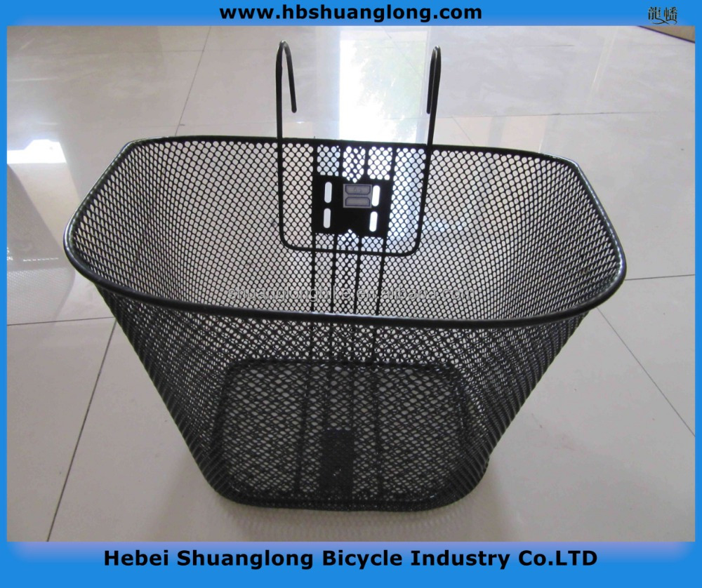 Modern seel wire Bicycle Basket with quick release