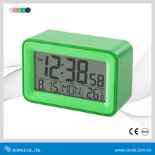 Best Selling Promotional Digital Private Label Weather Station Alarm Clock Thermometer