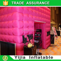 portable photo booth used photo booth kiosk with led for sale
