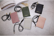 Hang card wallet neck credit card wallet holder