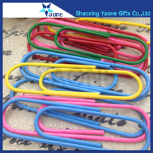 Office school custom large size hanging assorted color big metal paper clip